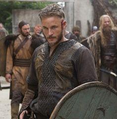 "My Ancestor Ragnor ""Lodbrock"" Sigurdsson as played by Travis Fimmel on HC ""The Vikings"""
