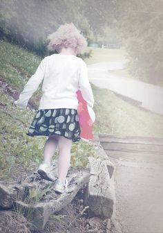 Childhood Play is a signed Fine Art Photograph by Joy Neasley. Childhood Play brings back memories of my childhood. Walking, balancing,