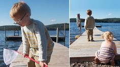 Seaside sweater - Pickles.  Size 7-8 free pattern (other sizes for sale from website)