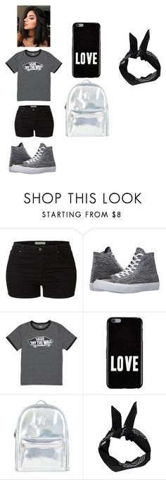 """""""Untitled #25"""" by kimorafrazier1234 on Polyvore featuring beauty, LE3NO, Converse, Vans, Givenchy, Accessorize and Boohoo"""