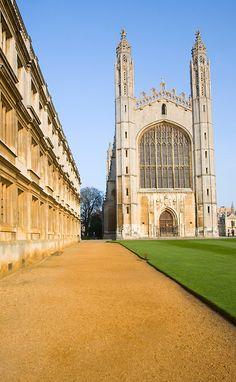 King's College chapel, Cambridge university, Cambridgeshire, England