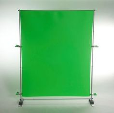 Green Screen for video production.  Building a recording studio with green screen.
