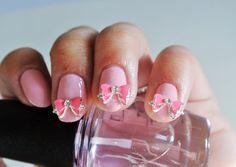Pink Bow Nail Charm 3d Nails Nail Design studs Nail Art Young Nails Nail Design weddings 2 pcs 3d nail charm pink bow nail art.