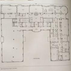 65 Goethe mansion floor plan