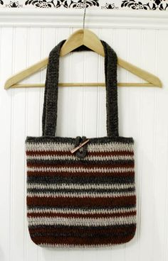 Felted Bag Pattern - How to FeltPetals to Picots