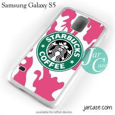 Starbucks Pink Camo Phone case for samsung galaxy S3/S4/S5