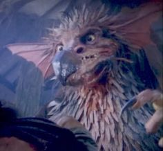"""The Griffin from Jim Henson's The Storyteller - I love this so much I learned to do the voice.  """"I not monster!  I, bird!""""  Seriously."""