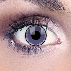 Purple Wolf Contact Lenses