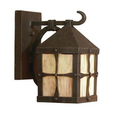 Home Decorators Collection Brimfield 1 Light Aged Iron Outdoor Wall Lantern Wall Lantern