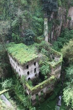 Old mill, Sorrento, Italy #architecture