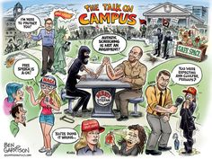 Presumptuous Politics: University of Berkeley Cartoons