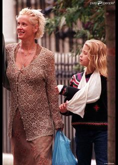 Peaches Geldof et sa mère Paula Yates en 1998.