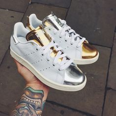 Gold & Silver Stan Smith