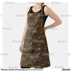 Western Kitchen Decor, Rodeo Events, Cowboy And Cowgirl, Summer Bbq, Event Design, Westerns, Apron, Cool Designs, Shopping