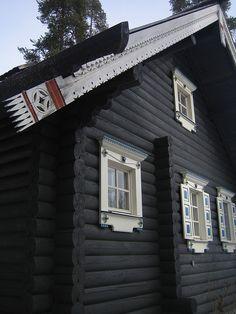 karelian log house