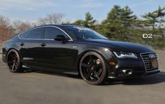 Audi A7 black on black