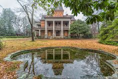 Bon Haven, built 1884, Spartanburg SC - on the road to demolition. Vacant since 1995, it is ironic that the original owner was president of the Spartanburg Historical Society. Surely Spartanburg has better things to do with this lovely (and still gorgeous inside) home.