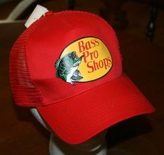 New Bass Pro Shops Fishing hunting Snapback Cap Hat Youth One Size Fits All   BassProShops fd61b01137d0