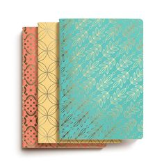 Bookjigs Utility notebooks are the perfect thing to save all your thoughts and ideas on paper. The Kortney Collection notebooks are sewn bound in canvas-textured paper, embellished with metallic foil