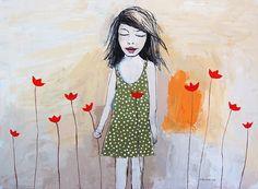 """Nature's touch"" 2012 acrylic on canvas. Artist Vane Kosturanov."