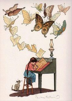 Write from your experience, from your imagination, from your heart. Magic will appear upon the page  Gram E