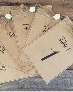 RUSTIC TABLE numbers Rustic Wedding, Our Wedding, Rustic Table Numbers, Artificial Wedding Bouquets, Colours, How To Make, Handmade, Etsy, Facebook