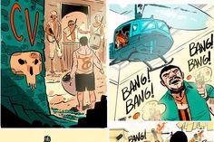 História em quadrinhos conta como surgiram e se espalharam as favelas cariocas, com seu histórico de luta e sua cultura
