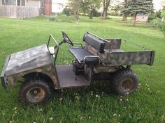 John Deere Gator For Sale Craigslist >> Utility vehicles on Pinterest | Electric Golf Cart, John Deere and Golf Carts