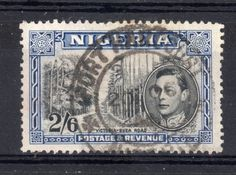 Victoria-Buea Road | 2s6d stamp | stamped Port Harcourt | Nigeria