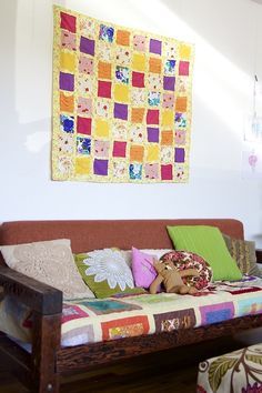 ~Ruffles And Stuff~: Lazy Girl Quilt Tutorial!