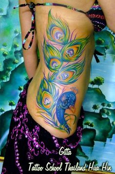 The color work on this tat is amazing. Way to go to the artist.