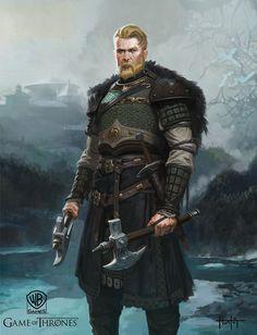 A Mormont and Bear Island, Hunter Schulz on ArtStation at https://www.artstation.com/artwork/1JXOL