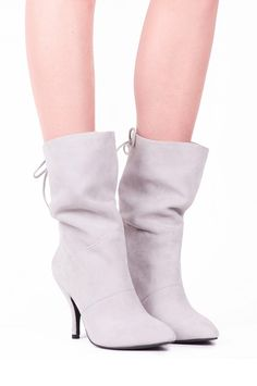 Jeffrey Campbell Shoes HARTMAN in Ivory Suede