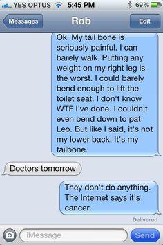 text message to my boyfriend