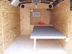Not a bad thought for camping Enclosed Trailer Camper, Cargo Trailer Camper Conversion, Toy Hauler Camper, Cargo Trailers, Utility Trailer, Camper Trailers, Travel Trailers, Pickup Camper, Build A Camper
