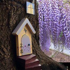 Fairy Door fairy garden unique housewarming  by WoodenBLING