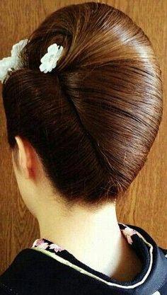 Haircut Styles For Women Long Hair Classic Hairstyles, Bride Hairstyles, Vintage Hairstyles, Pretty Hairstyles, Haircut Styles For Women, Hair Up Styles, Natural Hair Styles, Roll Hairstyle, French Twist Hair