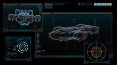 DARK MATTER - Season 1 - UI/Screen Graphics on Behance