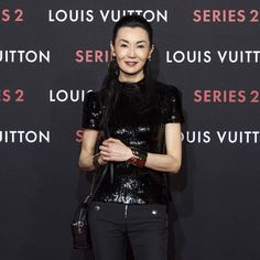 Maggie Cheung at the Beijing opening of the #LVSeries2 - Past, Present, Future Exhibit from #LouisVuitton