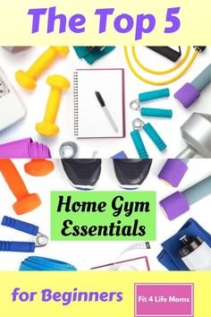 The Top 5 Home Gym Essentials for Beginners gives you my prime equipment recommendations in helping you achieve your fitness goals right in your own home. Home Workout Men, Gym Workout Tips, Workout Essentials, Hard Workout, Workout Challenge, At Home Workouts, Home Gym Equipment, No Equipment Workout, Fitness Goals