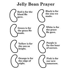 The-jelly-bean-prayer & other Bible related coloring pages