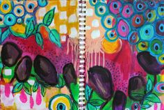 I love doing these morning pages. This one especially feels like Spring. Journal Topics, Art Journal Pages, Art Journals, Morning Pages, Foot Prints, Rug Ideas, Journalling, Erin Condren, Medium Art