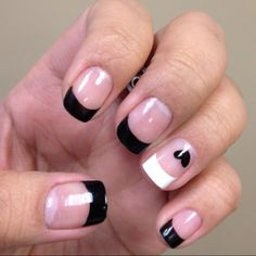 Black & White's Love them! I did pink and reds. Cant wait to try black and blue's.