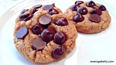 4 Ingredient Peanut Butter Cookies Recipe  - gluten free from Average Betty - if you add chocolate chips it becomes five ingredients