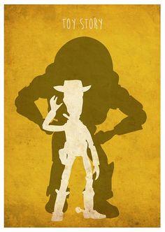 Poster un minimum Toy Story Poster par MyGeekPosters sur Etsy Disney Pixar, Old Disney, Arte Disney, Disney Toys, Disney Fun, Disney Animation, Disney Movie Posters, Disney Animated Movies, Carton Texture
