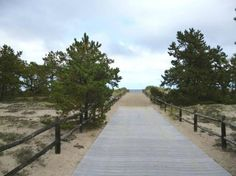 ferry beach state park maine | Ferry Beach State Park: Walkway to ocean at Ferry Beach