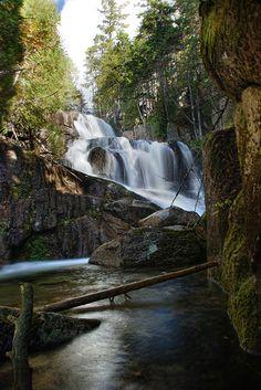 Katahdin Stream Falls - Baxter State Park, Maine