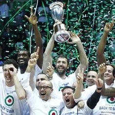 La #BancodiSardegna #Sassari vince la Coppa Italia 2015