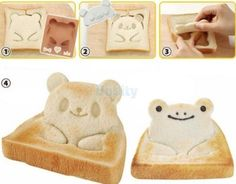 Heart Shape Sandwich Cake Bread Toast Tool Craft Maker DIY Mold Cutter RE