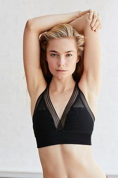 41cf61d564ad9 Layering Sports Bra by FP Movement at Free People Mesh Bra